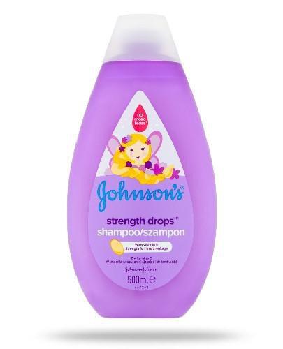 Johnsons Baby Strenght Drops szampon do włosów z witaminą E 500 ml