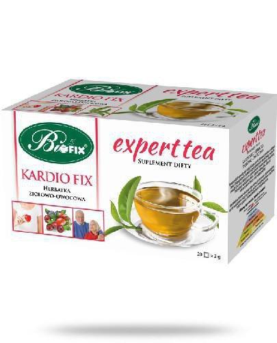 BiFix Expert Tea Kardio Fix Herbata ziołowo-owocowa 20 saszetek