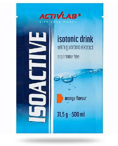 Activlab IsoActive Isotonic Drink smak pomarańczowy 1 saszetka