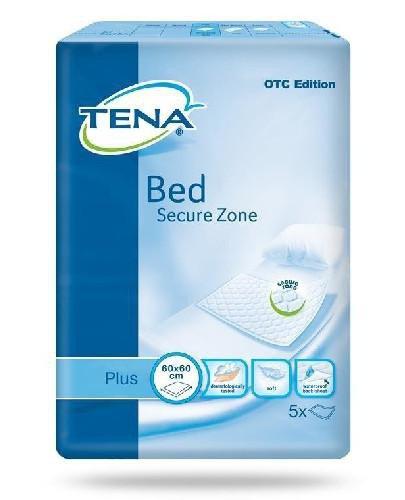 Tena Bed Plus 60 x 60 cm podkłady chłonne 5 sztuk