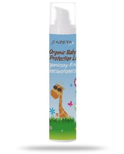 Azeta Bio organiczna mleczko ochronne na słońce z filtrami mineralnymi i SPF50+ dla dzie...