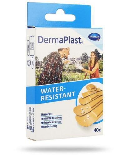 DermaPlast Water Resistant plastry 40 sztuk