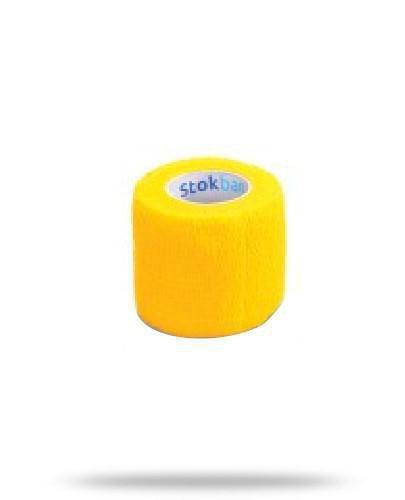 Stokban bandaż elastyczny samoprzylepny żółty 5cm x 4,5m 1 sztuka