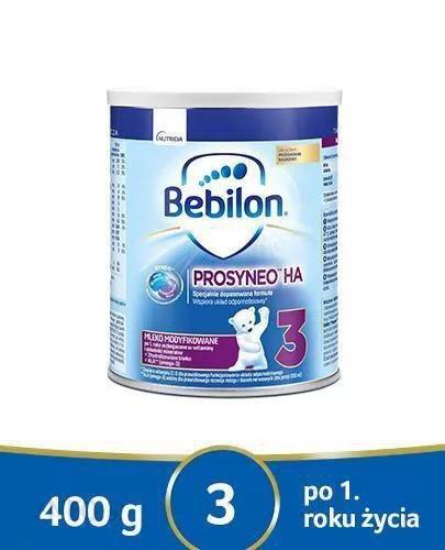 Bebilon Prosyneo HA 3 mleko modyfikowane powyżej 1. roku 400 g