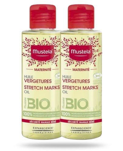Mustela Maternite Bio olejek na rozstępy 2x 105 ml [DWUPAK]