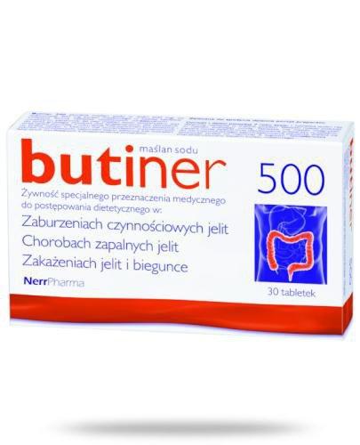 Butiner 500 30 tabletek