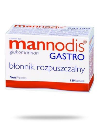 Mannodis Gastro 120 kapsułek