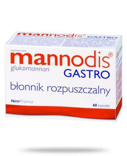 Mannodis Gastro 60 kapsułek