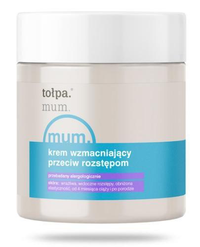 Tołpa Dermo Body Mum krem wzmacniający przeciw rozstępom 250 ml
