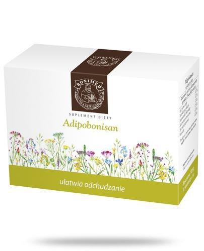 Adipobonisan ułatwia odchudzanie zioła do zaparzania 20 saszetek