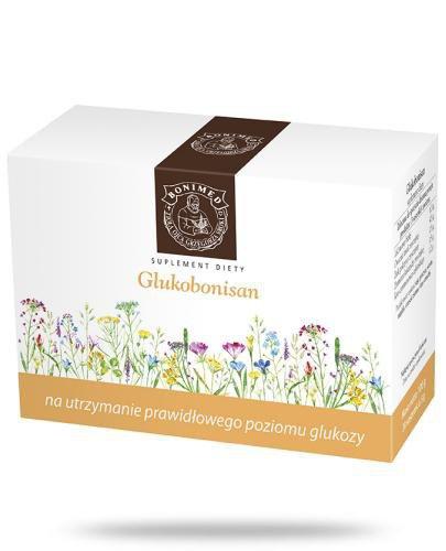 Glukobonisan na utrzymanie prawidłowego poziomu glukozy zioła do zaparzania 20 saszetek