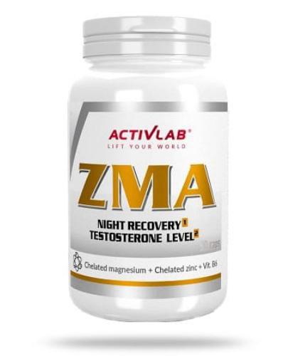 ActivLab ZMA dla intensywnie uprawiających różne dyscypliny sportu 90 kapsułek