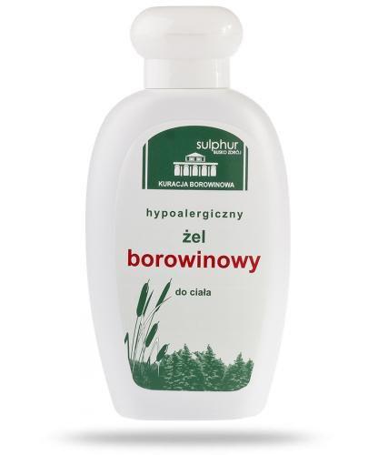 Hypoalergiczny żel borowinowy balsam do ciała i twarzy 200 g