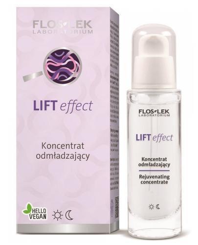 Flo-Lek Lift Effect odmładzający koncentrat do twarzy serum dzień i na noc 30 ml