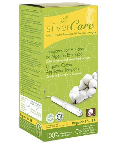 Masmi Silver Care tampony z aplikatorem regular 16 sztuk