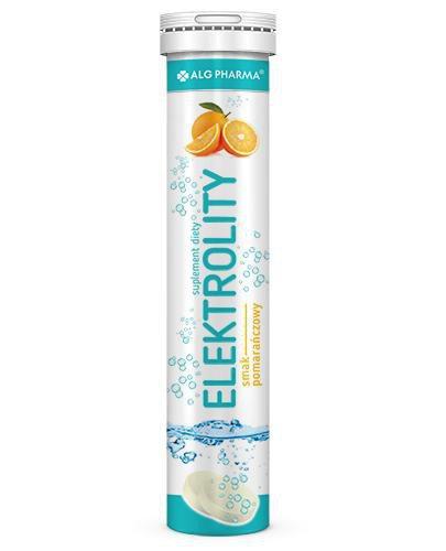 Elektrolity 20 tabletek musujących