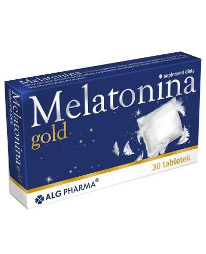 Melatonina gold 30 tabletek