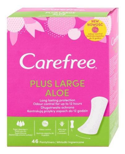 Carefree Plus Large Aloe wkładki higieniczne 46 sztuk