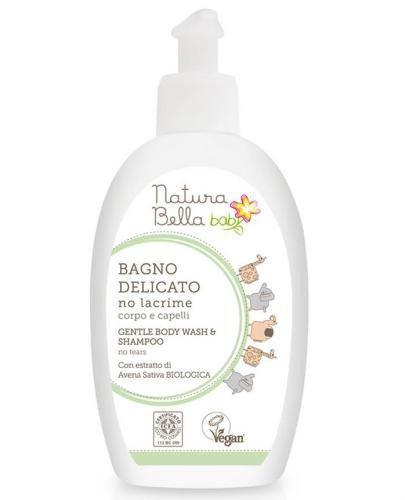 Naturabella Baby delikatny płyn do kąpieli i szampon 2w1 300 ml