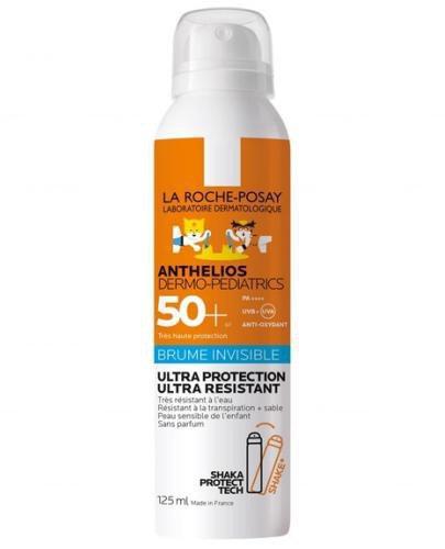 La Roche Posay Anthelios Dermo-Pediatrics niewidzialna mgiełka dla dzieci SPF50+ 125 ml