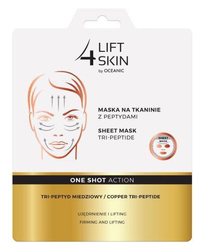 Lift 4 Skin One Shot Action Tri-peptyd Miedziowy maska na tkaninie 23 ml