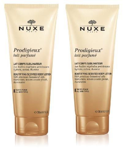 Nuxe Prodigieux perfumowane mleczko do ciała 2x 200 ml [DWUPAK]