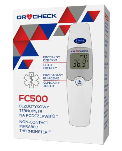 Diagnostic Dr CHECK FC500 termometr bezdotykowy 1 sztuka