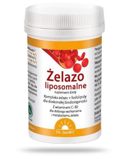Dr Jacobs Żelazo liposomalne 64 g