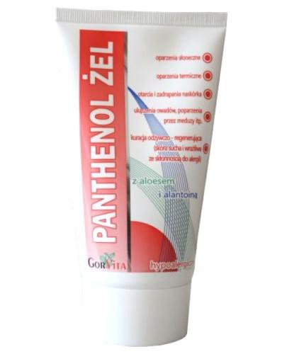 Panthenol Żel z aloes i alantoin 100 ml