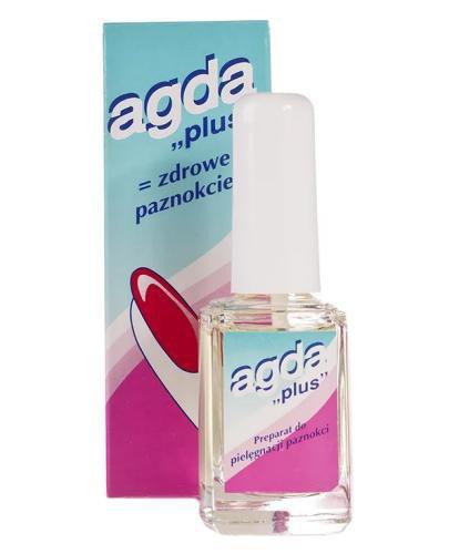 Agda Plus odżywka do pielęgnacji paznokci 10 ml