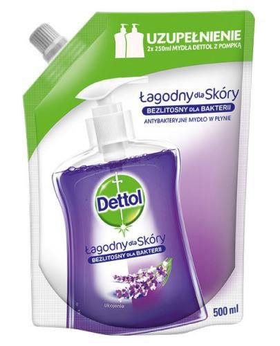 Dettol antybakteryjne mydło w płynie ukojenie wkład uzupełniający 500 ml