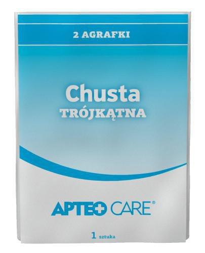 Apteo Care chusta trójkątna + 2 agrafki