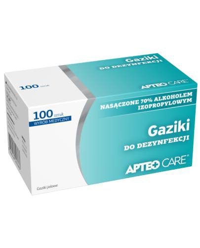 Apteo Care gaziki do dezynfekcji 100 sztuk