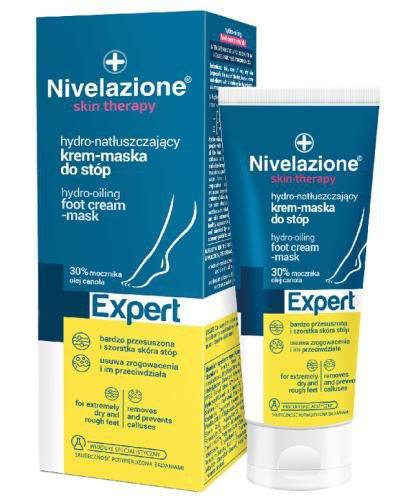 Ideepharm Nivelazione Skin Therapy Expert hydro-natłuszczający krem-maska do stóp 50 ml