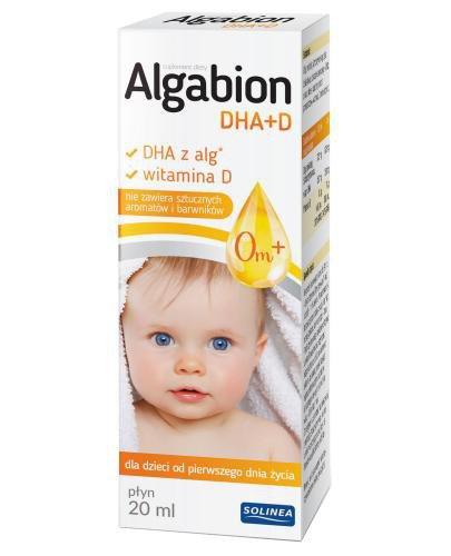 Algabion DHA+D płyn 20 ml