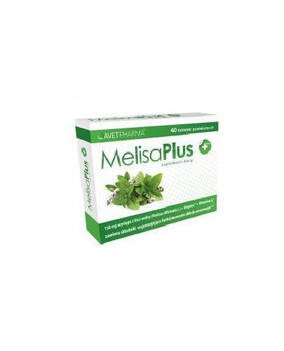 Avet MelisaPlus 40 tabletek