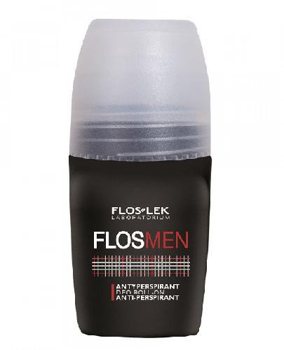 Flos-Lek FLOSMEN Antyperspirant deo roll-on FRESH 0% alkoholu 50ml