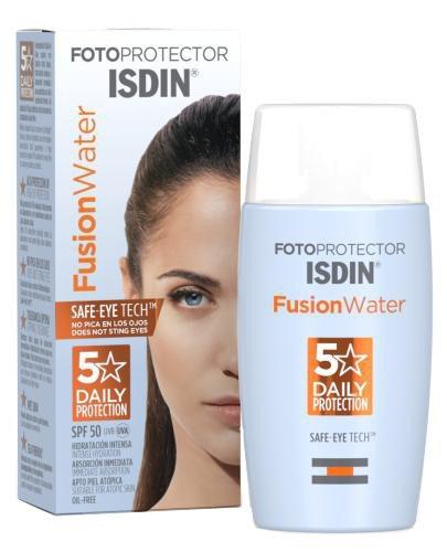Fotoprotector Isdin Age Repair Fusion Water SPF50 ultralekki krem do twarzy 50 ml
