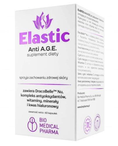 Elastic Anti A.G.E. 60 kapsułek