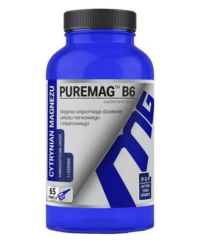 Puremag B6 Cytrynian magnezu proszek 165 g