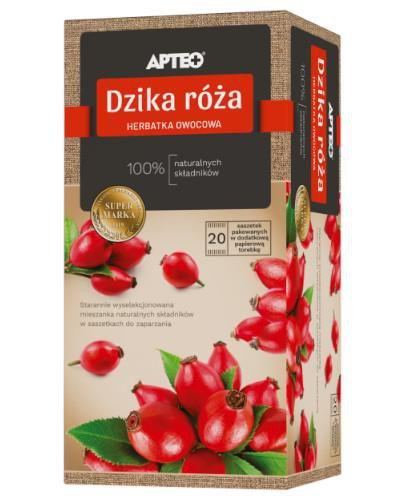 Apteo Natura Dzika róża 20 saszetek