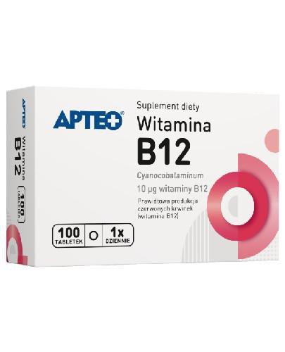 Apteo Witamina B12 100 tabletek