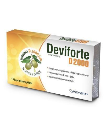 Deviforte D2000 15 kapsułek