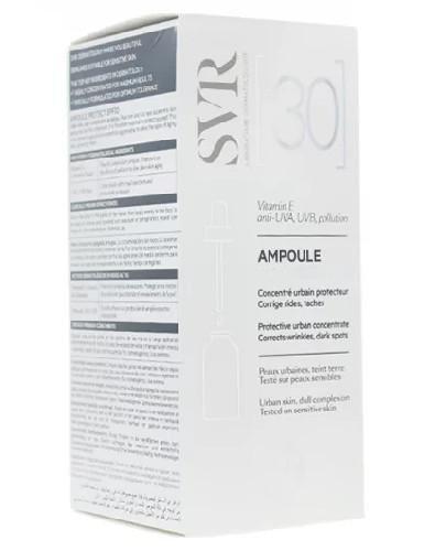 SVR Ampoule Protect SPF30 ochronne serum koryguje zmarszczki i przebarwienia 30 ml