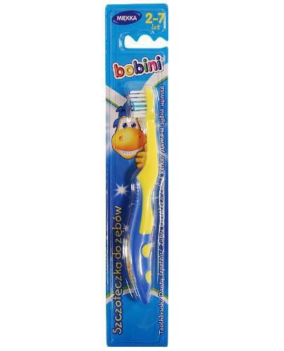 Bobini szczoteczka do zębów dla dzieci powyżej 2 roku życia 1 sztuka