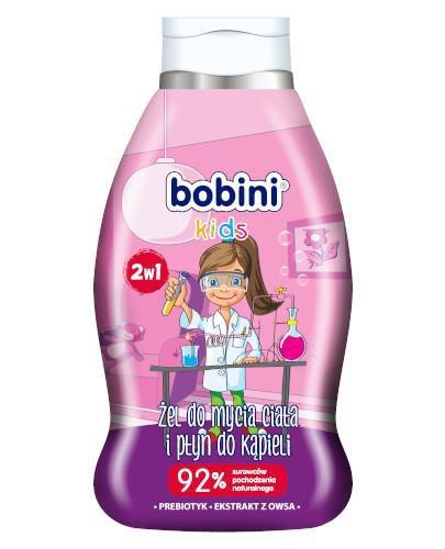 Bobini płyn do kąpieli i mycia ciała 2w1 Mały naukowiec 660 ml