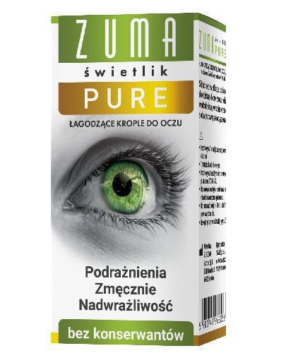 Zuma Świetlik Pure krople do oczu 10 ml