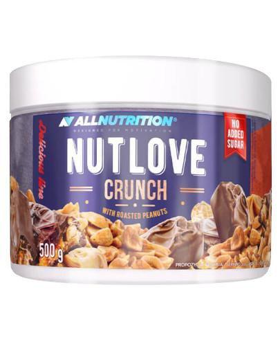 Allnutrition Nutlove Crunch krem czekoladowy z chrupiącymi orzeszkami 500 g