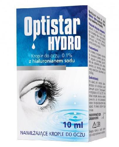 Optistar Hydro krople do oczu 0,1% 10 ml