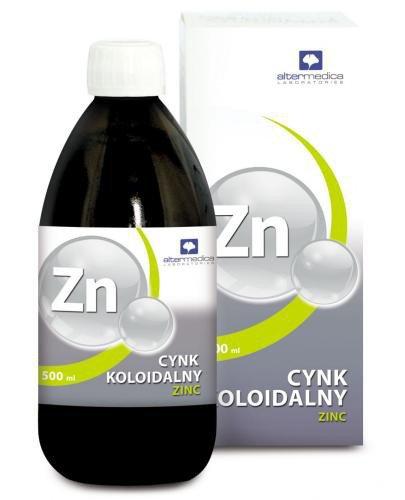 Alter Medic Cynk Koloidalny Zinc tonik 500 ml